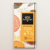 Vanini 49% Cacao Milk Chocolate Bar with Orange Peel