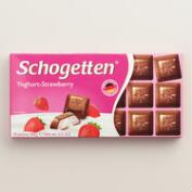 Schogetten Yogurt Strawberry Milk Chocolate Bar