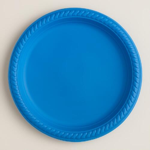 "9"" Biodegradable Disposable Plates, 6-Pack"
