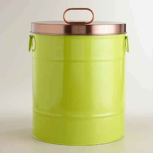 Apple Green Pet Food Storage Container