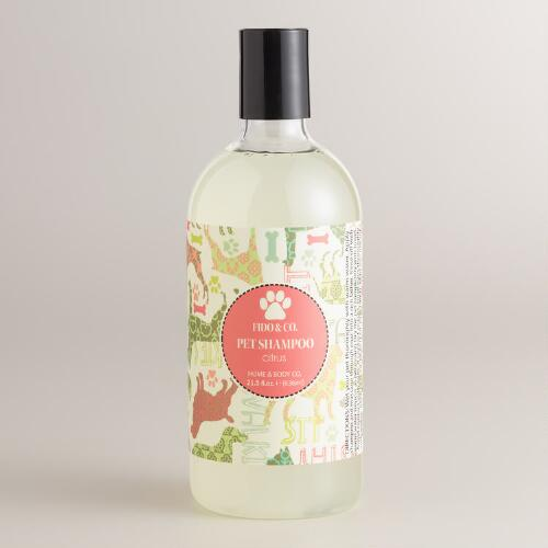 Fido and Co. Citrus Pet Shampoo