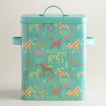 Dog Treat Storage Container