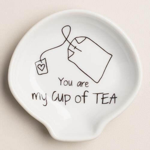"""You Are My Cup of Tea"" Tea Rest"