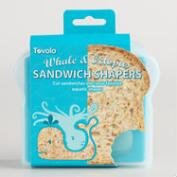 Octopus and Whale Sandwich Shaper