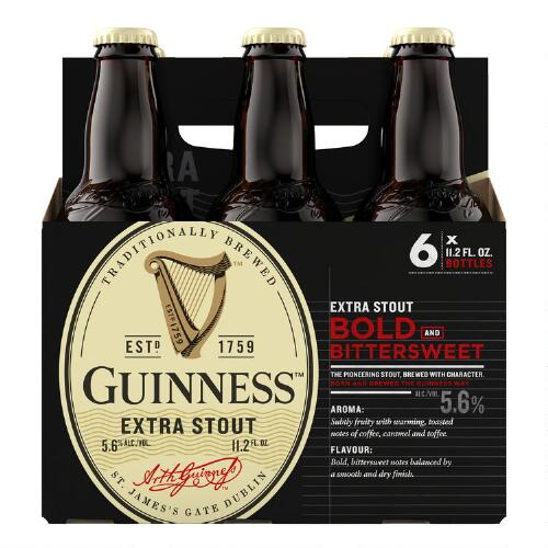 Guinness Stout, 6-Pack