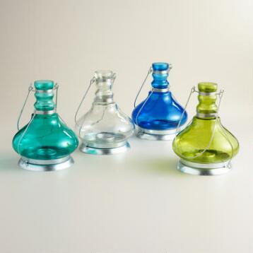 Bubble Glass Genie Lamp Bottle Lantern