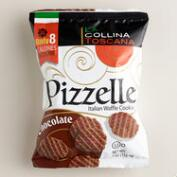 La Collina Chocolate Pizzelle Bag, 12-Pack