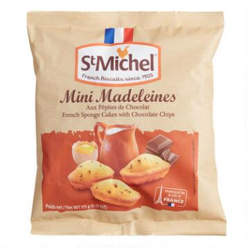 St. Michel Chocolate Chip Madeline Cookies, 12-Pack