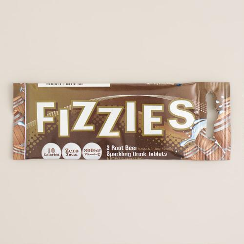 Root Beer Fizzies Instant Drink Tablets, Set of 6