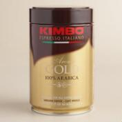 Kimbo Aroma Gold Tin Ground Coffee
