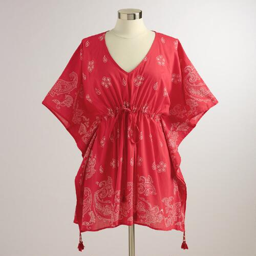 Red Bandana Kaftan