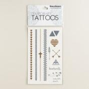 Arrows Flash Tattoos, 4-Pack