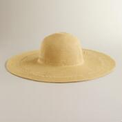 Natural Sunhat with Braided Band