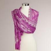 Orchid Prayer Shawl
