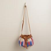 Small Multicolor Woven Bag