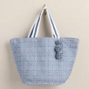 Blue Diamond Beach Tote