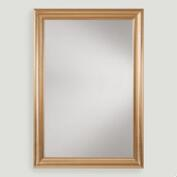 Large mirrors and leaning floor mirrors world market for Gold frame floor mirror