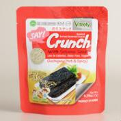 Say Crunch Hot & Spicy Seaweed Snacks with Sesame Seeds