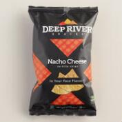 Deep River Nacho Cheese Tortilla Chips