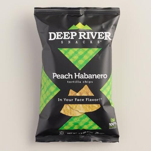 Deep River Peach Habanero Tortilla Chips