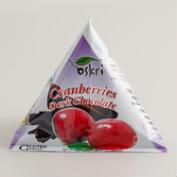 Oskri Dark Chocolate Cranberries Pyramid Snacks