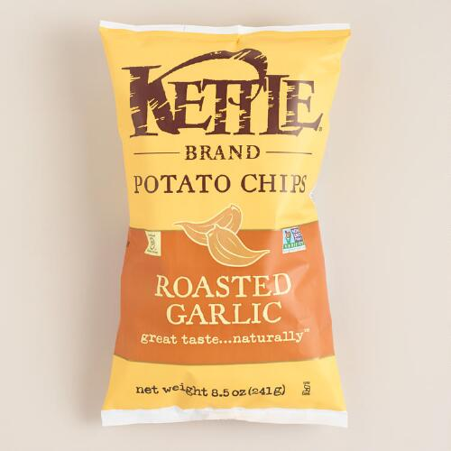 Roasted Garlic Kettle Brand Potato Chips