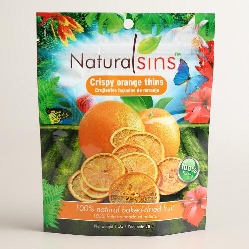Natural Sins Crispy Orange Thins