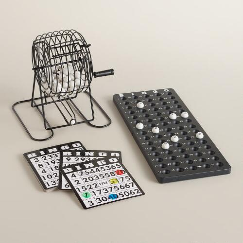 Retro Bingo Set