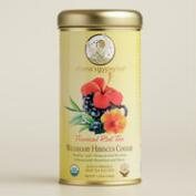Zhena's Wildberry Hibiscus Red Rooibos Tea Tin