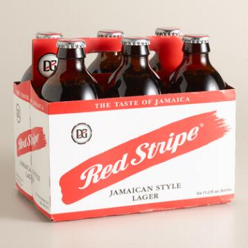 Red Stripe Lager, 6-Pack