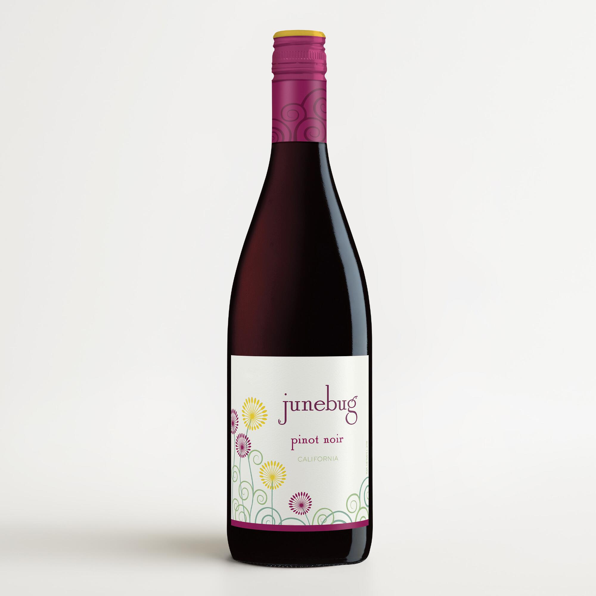 Junebug pinot noir world market for Best pinot noir in the world
