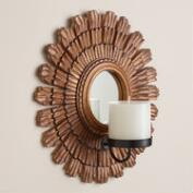 Art Deco Wood Sconce