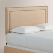 Micro Suede Treyton Upholstered Bed