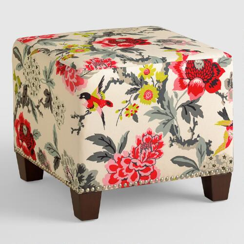 Candid Moment McKenzie Upholstered Ottoman