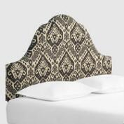Charcoal Safi Elsie Upholstered Headboard