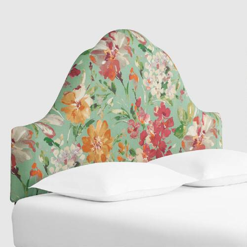 Paint Palette Elsie Upholstered Headboard