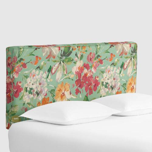 Paint Palette Loran Upholstered Headboard