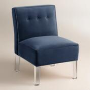 Velvet Randen Upholstered Chair