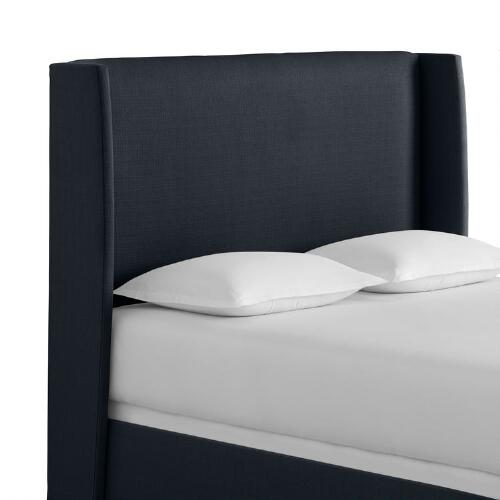 Textured Woven Bryn Upholstered Bed