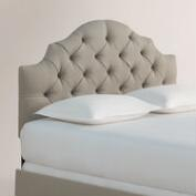 Textured Woven Sabine Upholstered Bed