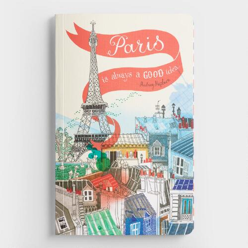 Paris is Always a Good Idea Journal