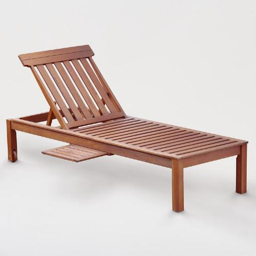Catalina Pool Lounger with Tray
