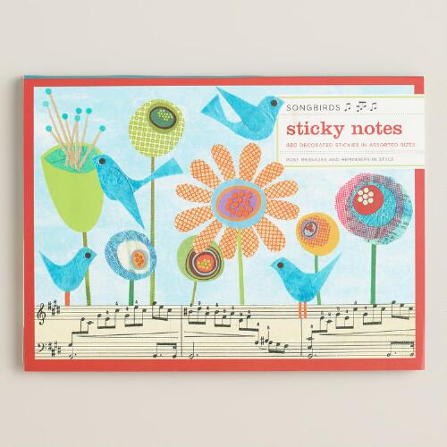 Songbirds Sticky Notes