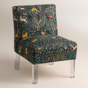 Randen Chair in Multicolor Prints