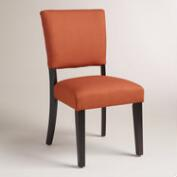 Henna Orange Mady Dining Chairs, Set of 2