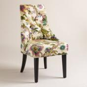 Grape Garrison Floral Lydia Dining Chairs, Set of 2
