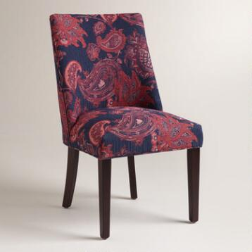 Garnet Villa Jacquard Evelyn Dining Chair