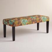 Augustus Floral Mady Dining Bench