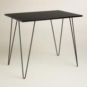 Black Hairpin Desk