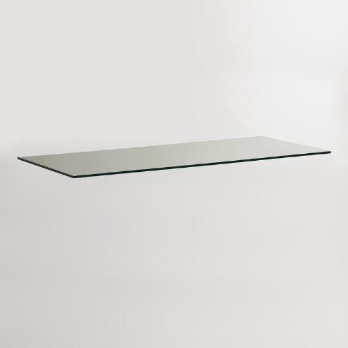 Glass Colton Mix & Match Desk Top